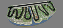 Scalextric Valley Layout