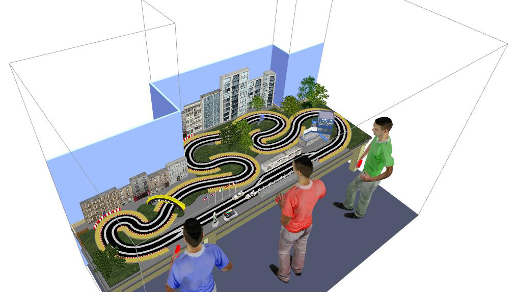 Watch furthermore Watch furthermore Watch additionally Index php further SlotCarScales. on 4 lane carrera track layouts